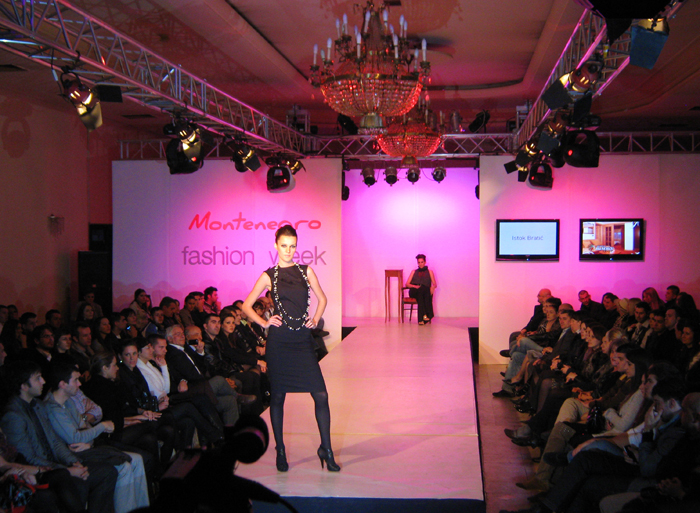 Alustage auf der Montenegro Fashion Week